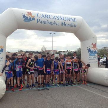 12 mars 2017 : Duathlon de Carcassonne et Championnats de France de Semi