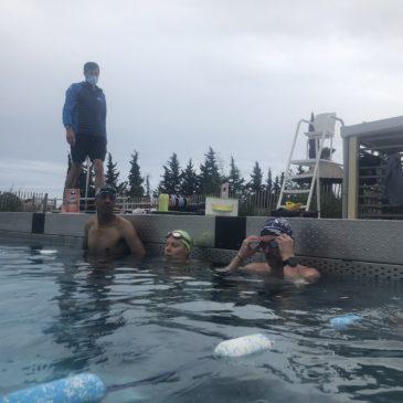 Reprise piscine et piste